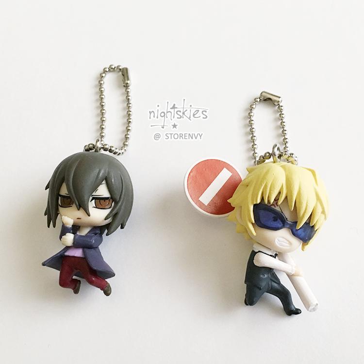 3828c9239660 Durarara!!x2 - Deformed Mini Keychains (Shizuo