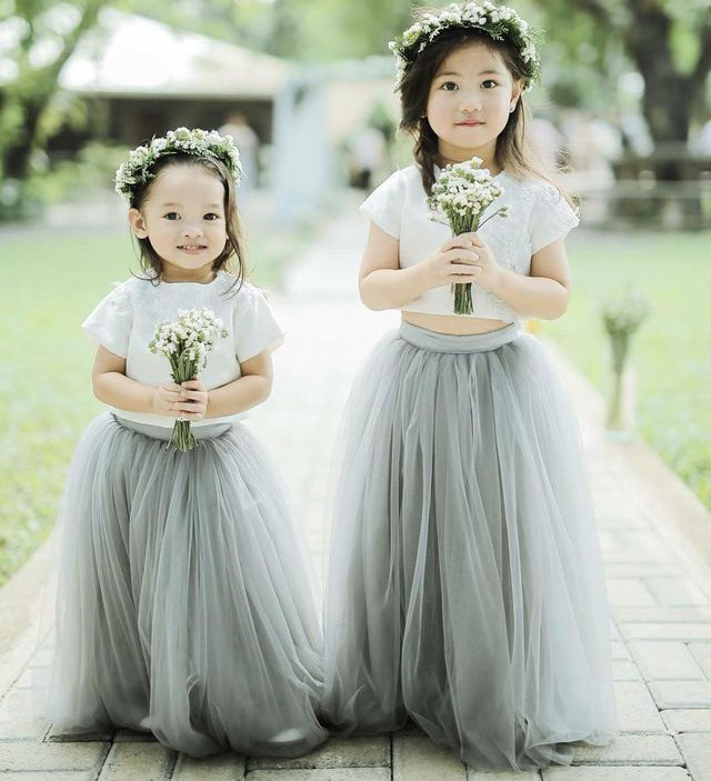 ae6a464af18 Sweet Two Piece Flower Girl Dresses · dressydances · Online Store ...
