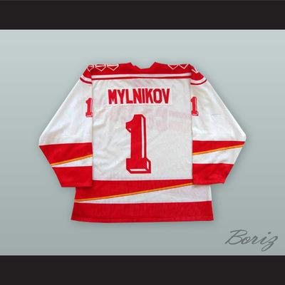 Sergei mylnikov 1 soviet union cccp national team white hockey jersey -  Thumbnail 2 246d4c865