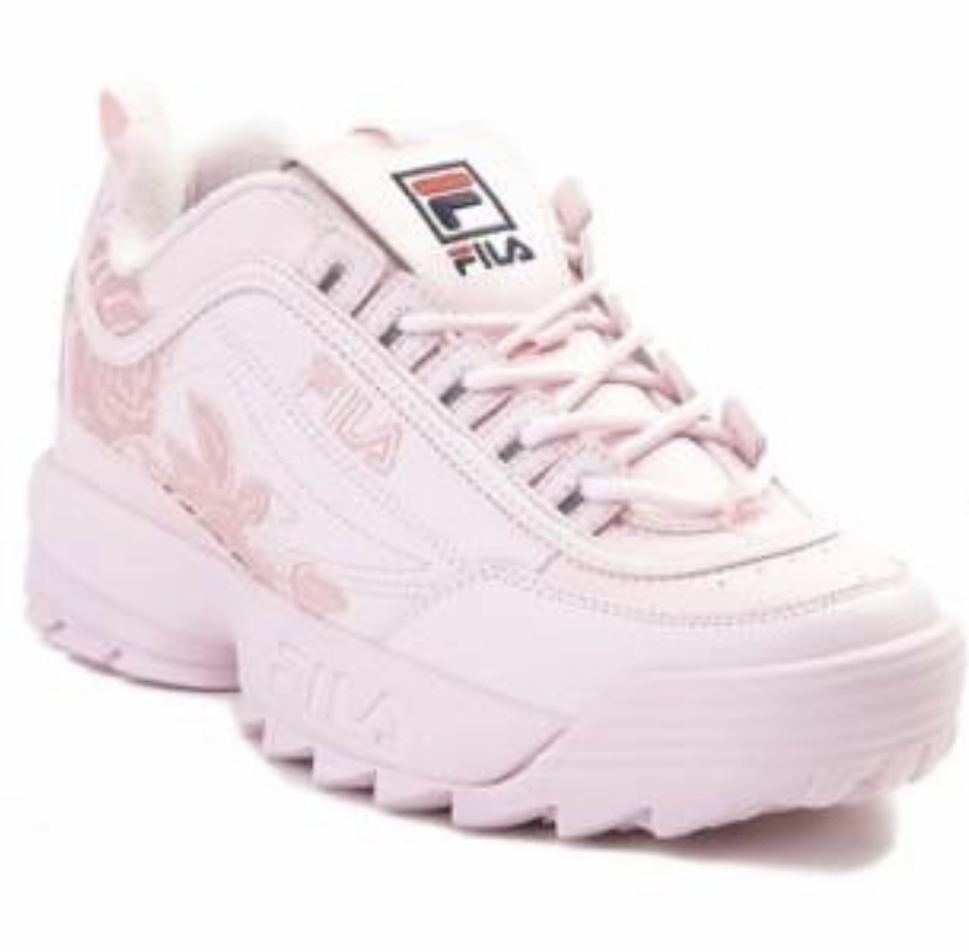 645ba688 Womens Fila Disruptor II Rose Athletic Shoe Pink