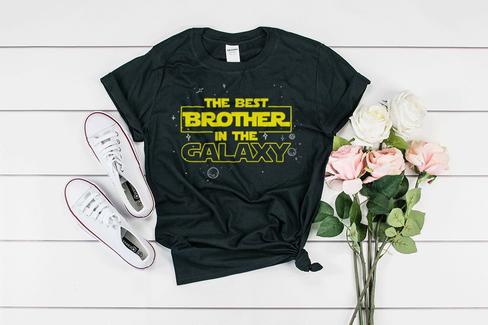 232092eb0 the best brother, in the galaxy, funny brother shirt, brother gift ideas,  brother in law, brother present, gift from sister, funny brother on Storenvy
