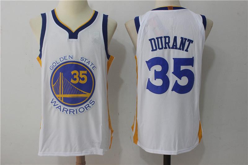 1c13cb914a5 Men s Golden State Warriors Kevin Durant White Swingman Jersey - Association  Edition