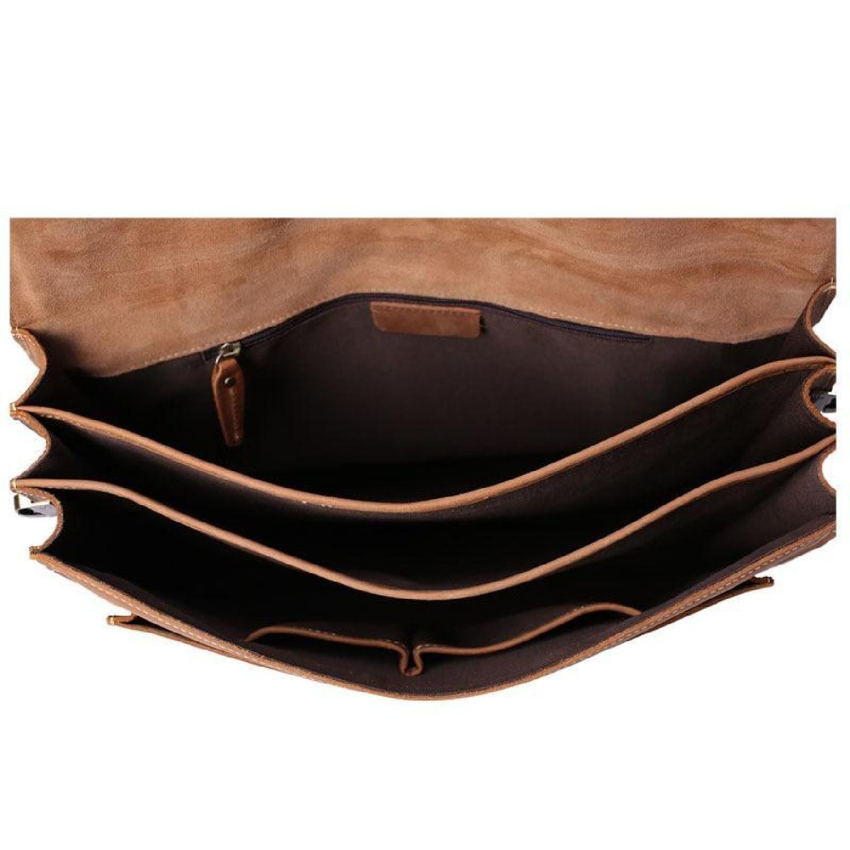 8e55d207457b ... Bag Leather Vintage Laptop Messenger Briefcase Men Satchel Genuine  Handmade Shoulder New Brown Man Handbag School