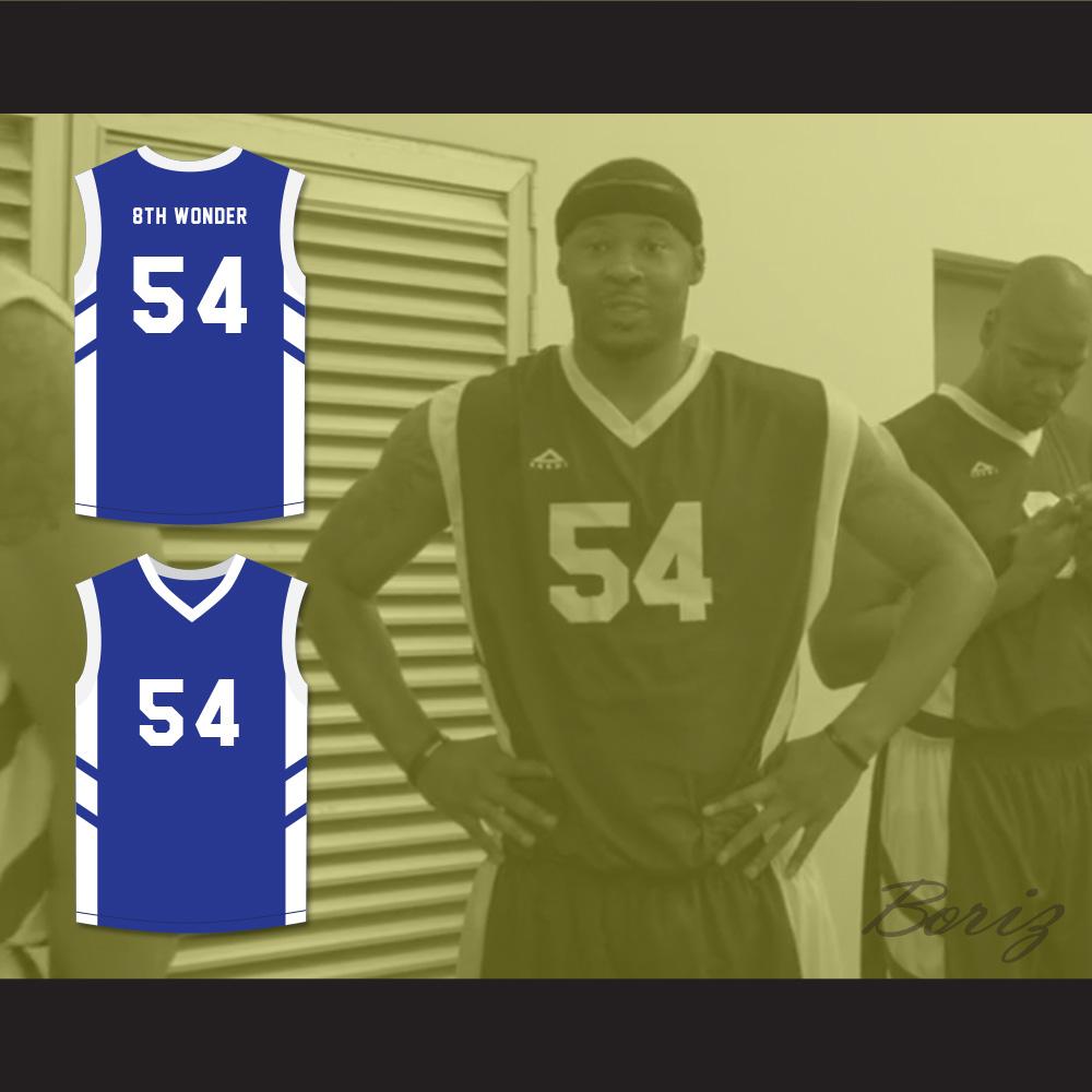 ... Antoine  8th Wonder  Scott 54 Blue Basketball Jersey Dennis Rodman s  Big Bang in PyongYang cf5865d6b