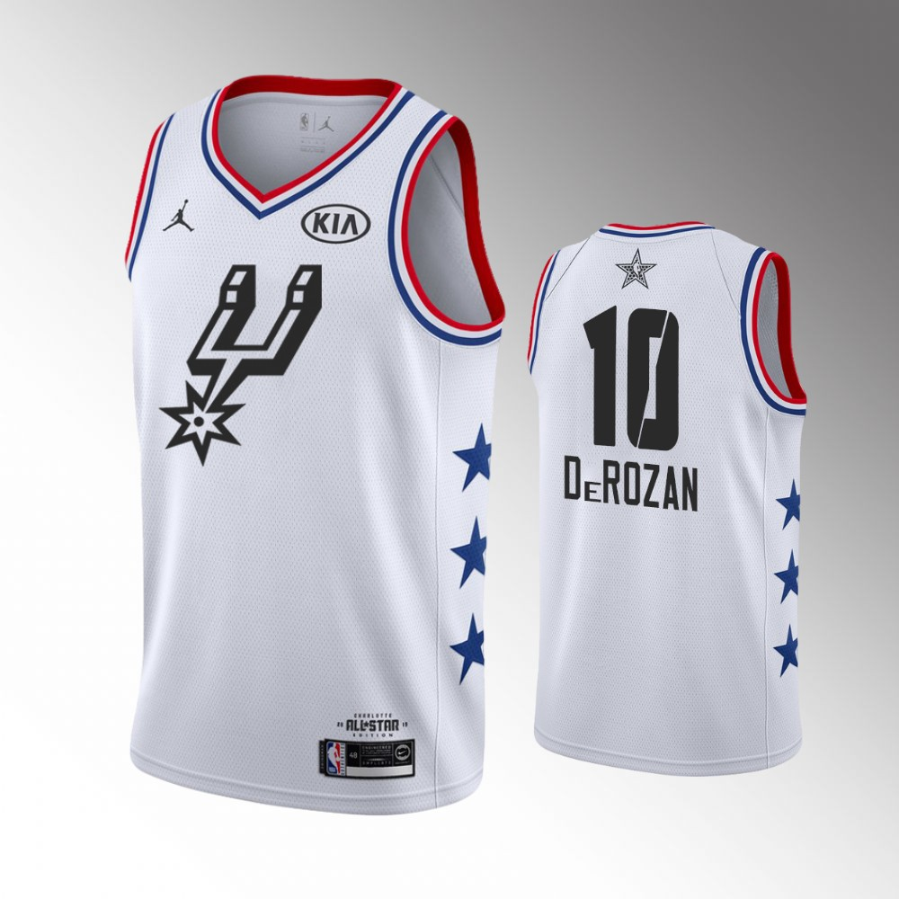 2019 All-Star  10 DeMar DeRozan San Antonio Spurs Game Finished ... 0d1ad26be