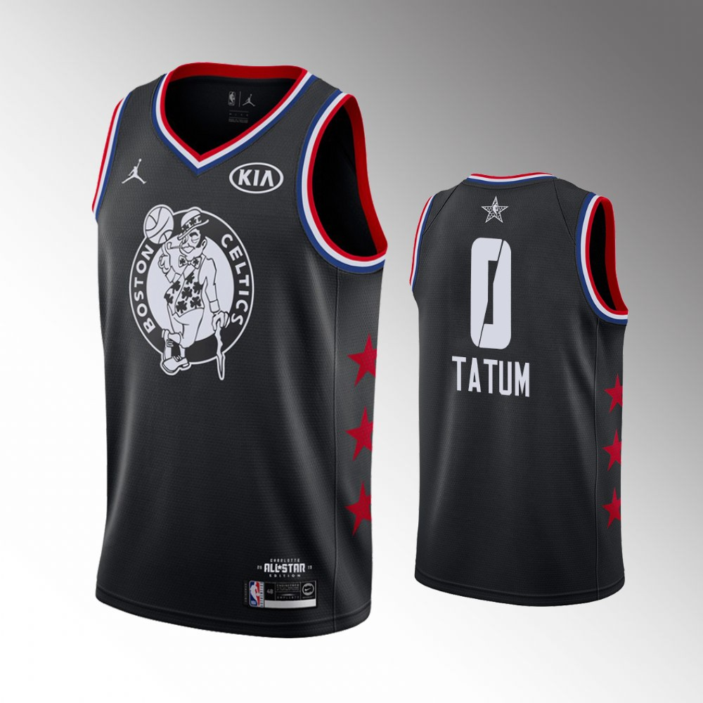 purchase cheap 6081d 326b2 2019 All-Star #0 Jayson Tatum Boston Celtics Game Finished Swingman Jersey  from Majesticathletic