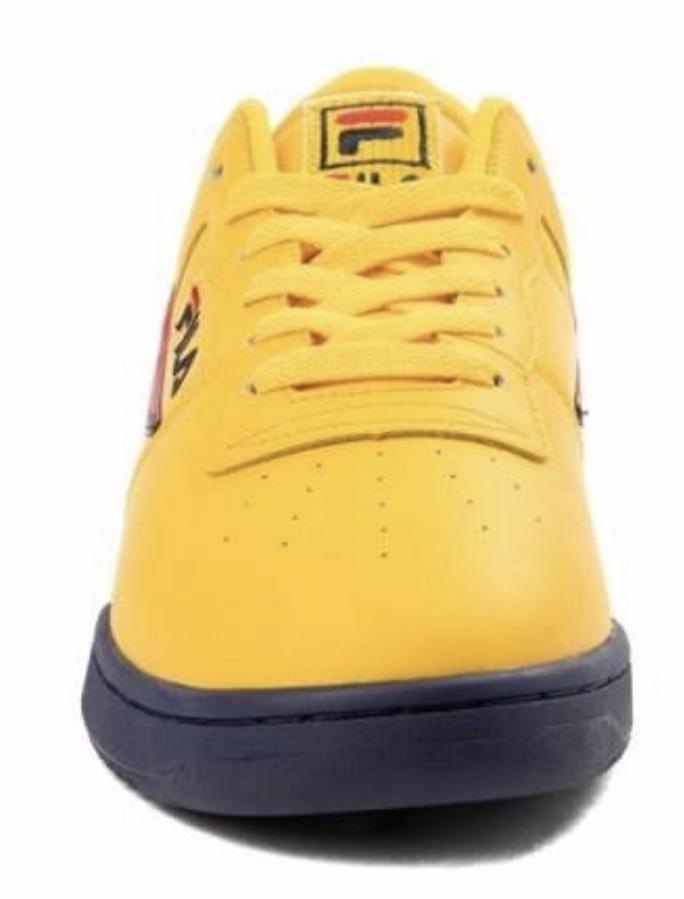 yellow fila original fitness