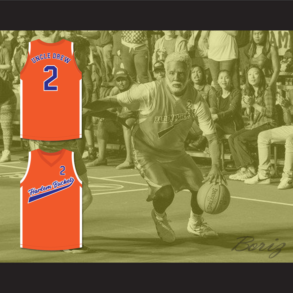 0f8f1bf63254 ... Uncle Drew 2 Harlem Buckets Alternate Basketball Jersey Uncle Drew - Thumbnail  2 ...