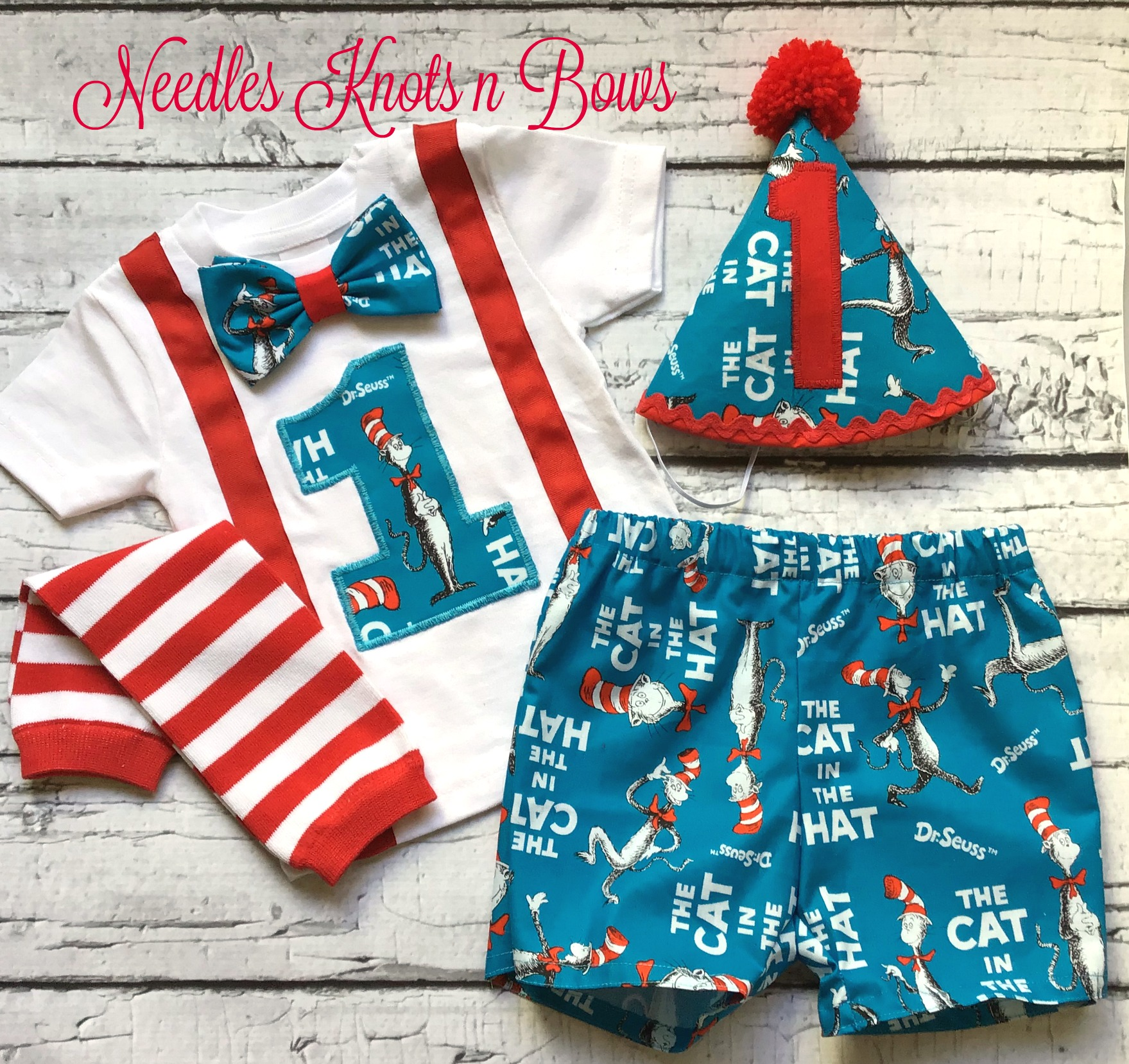 b627a88c Boys Dr. Suess Birthday Outfit, Boys First Birthday Outfit, Dr. Suess  Birthday