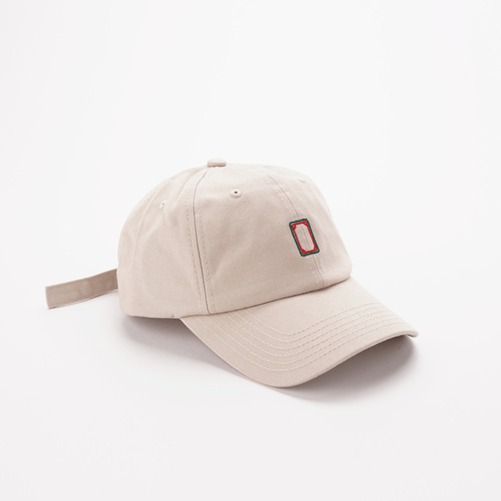 7499fdba5f7a7 CHINESE MAHJONG WHITE BASEBALL CAP KHAKI · soldrelax · Online Store Powered  by Storenvy