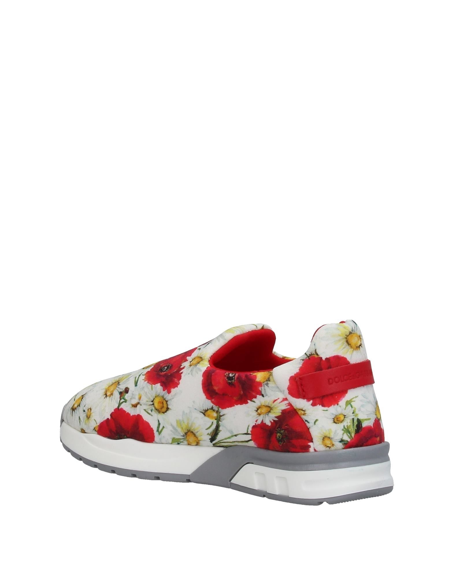 c41393c034e8d Dolce   Gabbana  Floral Girl s Sneakers (Kids) from Stush Fashionista
