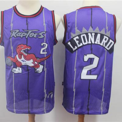 e7a88a6e911 Men s toronto raptors 2  kawhi leonard mitchell   ness purple hardwood  classics swingman jerseys basketball