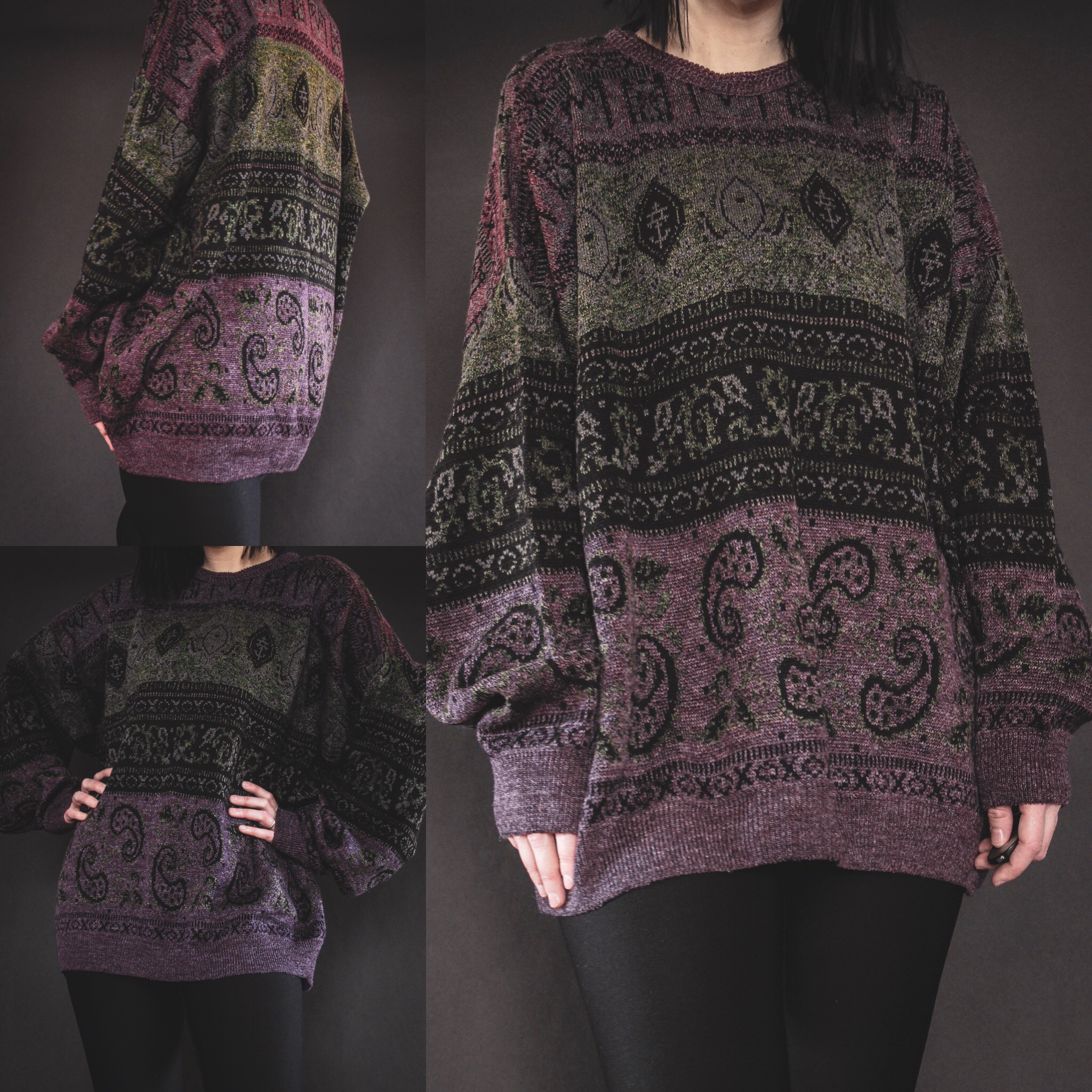 RESERVED FOR DESIRAE - Vintage 90s Signature Sweater - Spellbound ... 8d5d9bb25