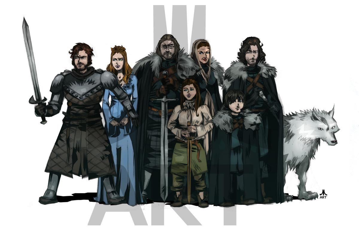 Got Stark Familie