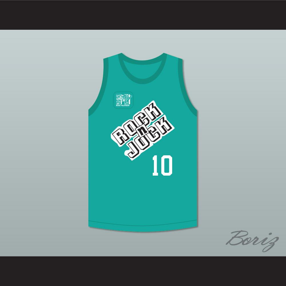 e444da5e6807 Daisy Fuentes 10 Violators Basketball Jersey 3rd Annual Rock N  Jock B-Ball  Jam