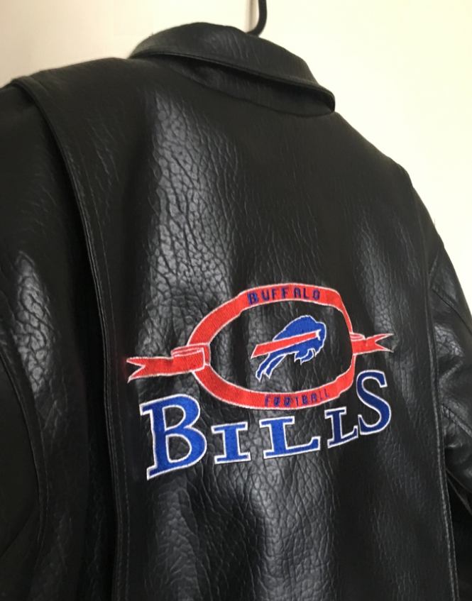 e69a3f13 Buffalo Bills Vintage Faux Leather Jacket