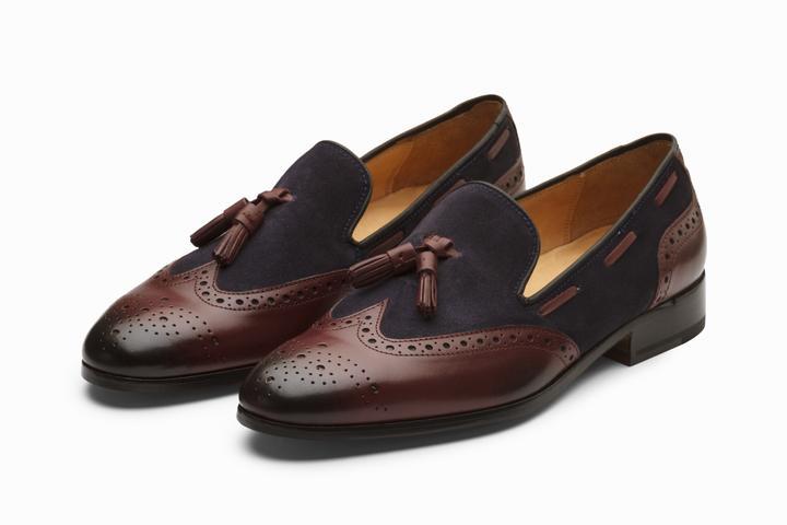 bddc77cf789 Handmade Men s Oxford Tassels Shoes