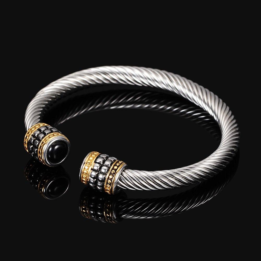 1ed2fade09f Unique Wire Cuff Designer Vintage Ship Bracelets Brand Cable ...