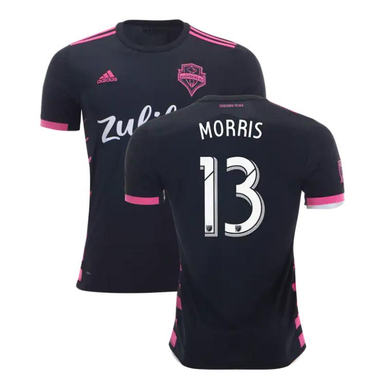 the best attitude 26e5f 02c54 Jordan Morris #13 Seattle Sounders 2019 Away Jersey Men's Stadium Soccer  Kit sold by JerseyHunt