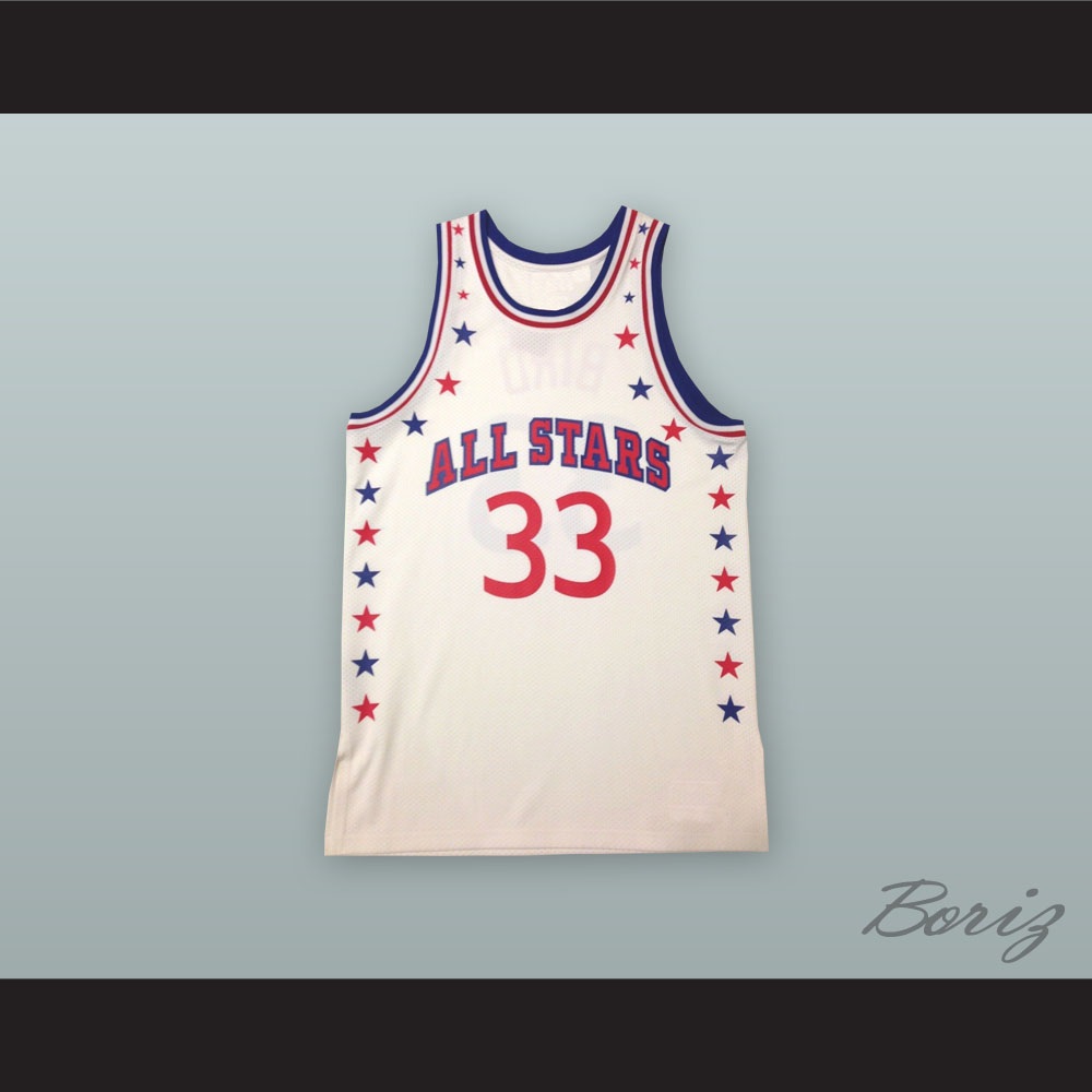 online store d1700 dfea1 Larry Bird 33 All Stars White Basketball Jersey from acbestseller