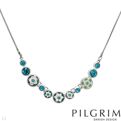 Pilgrim Crystal Necklace 183 Contemporary Designer Jewelry