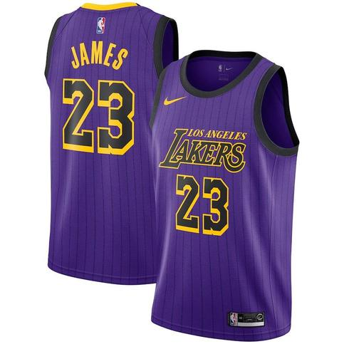 c2edc5ebace Men's Los Angeles Lakers #23 LeBron James Jersey City Edition on Storenvy