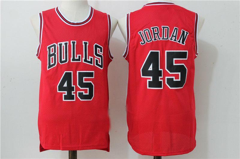 finest selection 8f8c7 42c6c Mens 1994-95 Chicago Bulls #45 Michael Jordan Retro Hardwood Classics  Swingman Jersey from topshoes