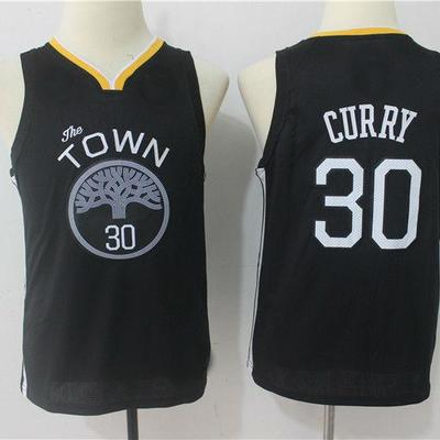 bf4bebe1ea6 2018 youth golden state warriors #30 stephen curry basketball jersey -  Thumbnail 2