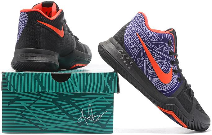 """hot sale online 1bc8e 950c9 2017 New Nike Kyrie 3 """"Hamsa Hand"""" Tattoo Basketball Shoes Online Sale from  BELLDRESS"""