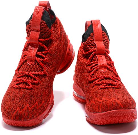 meet 48ec9 ee3f8 Nike LeBron 15 Red and Black For Sale from BELLDRESS