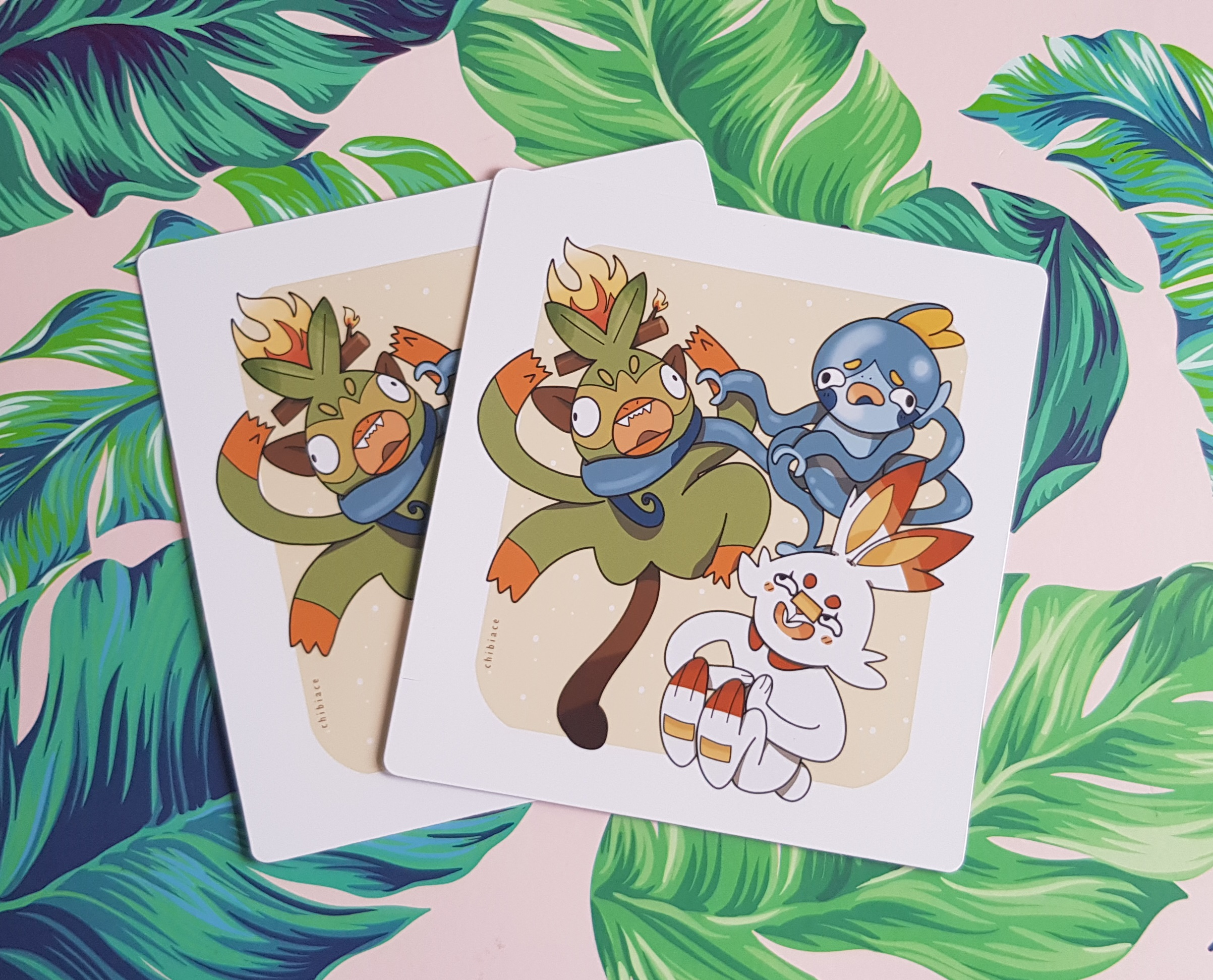 Pokemon Sword And Shield Starters Print A5 On Storenvy