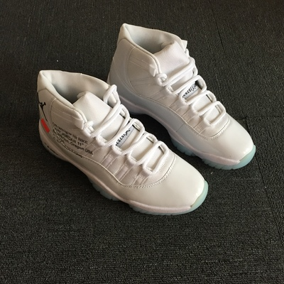 new products 10093 31301 Off White Retro Air Jordan 11 Men Women Basketball Shoes from wangli