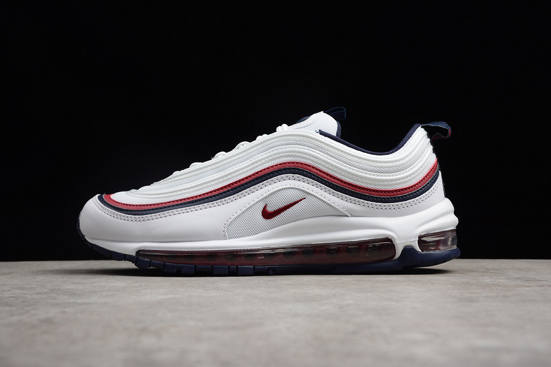 Nike Air Max 97 White Red Running Shoes sold by ivicente