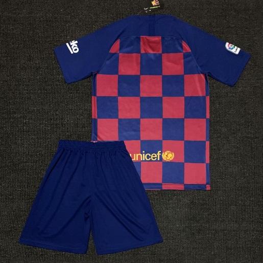 online retailer 45215 68069 Barcelona home KIT 19 20 jersey Kids Soccer shirt Short Red BLue from  isacctex