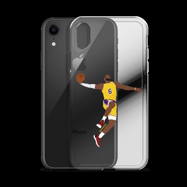 Lebron James 6 Minimalist Transparent Iphone Case Pacprints Minimalist Art Online Store Powered By Storenvy