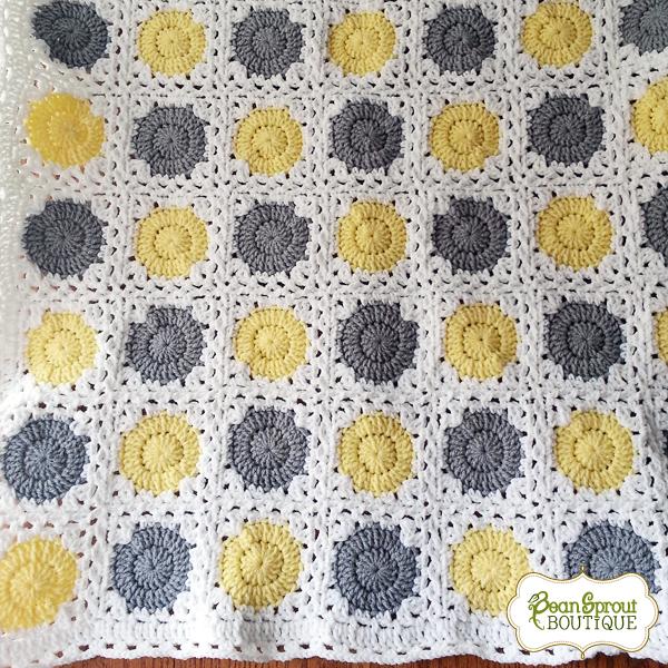 3df7a6f09bb88 Polka Dot Baby Blanket Crochet Pattern – Crochet Blanket Ideas 2019