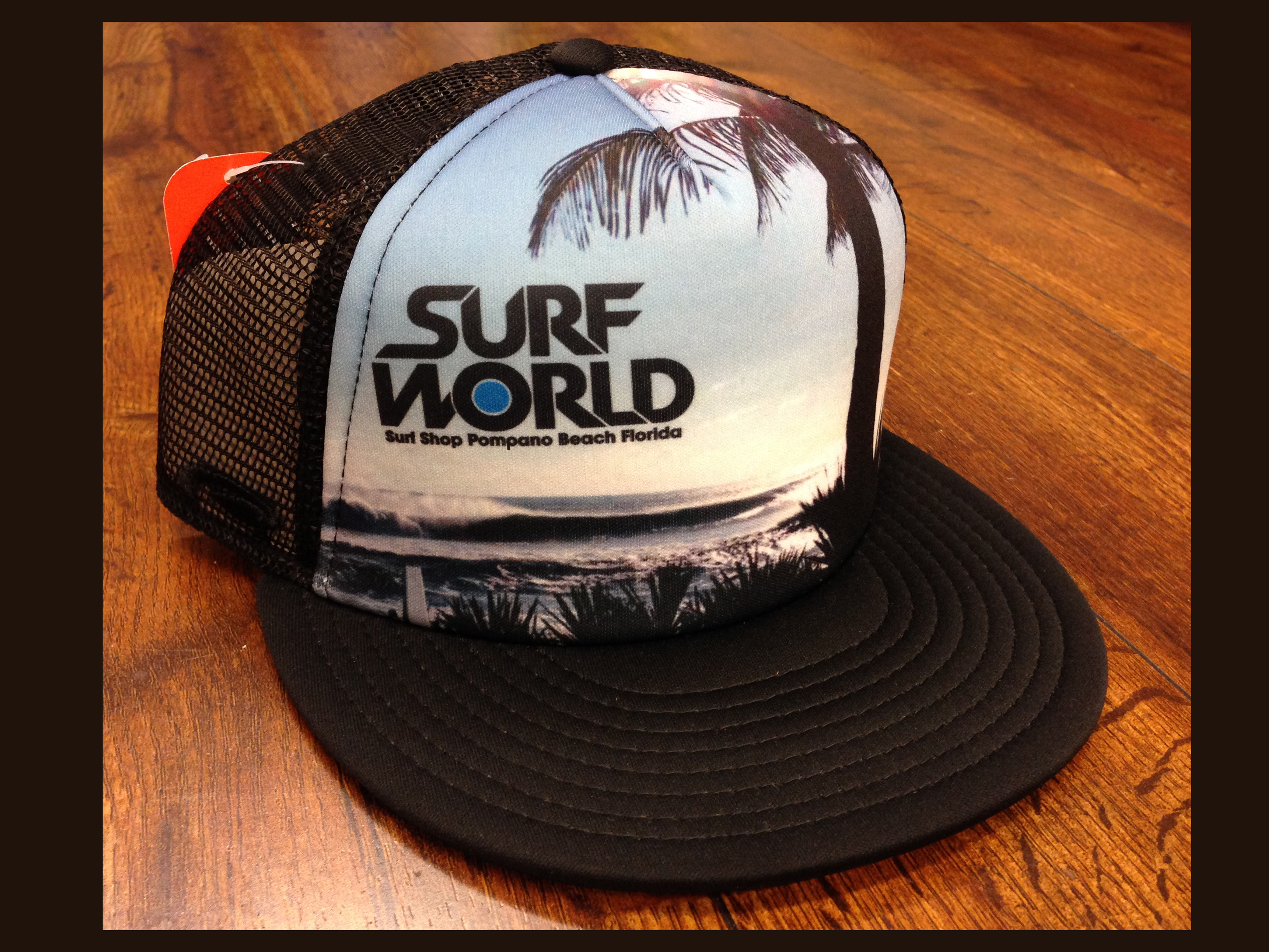 600b9095 Surf 20world 20black 20trucker original