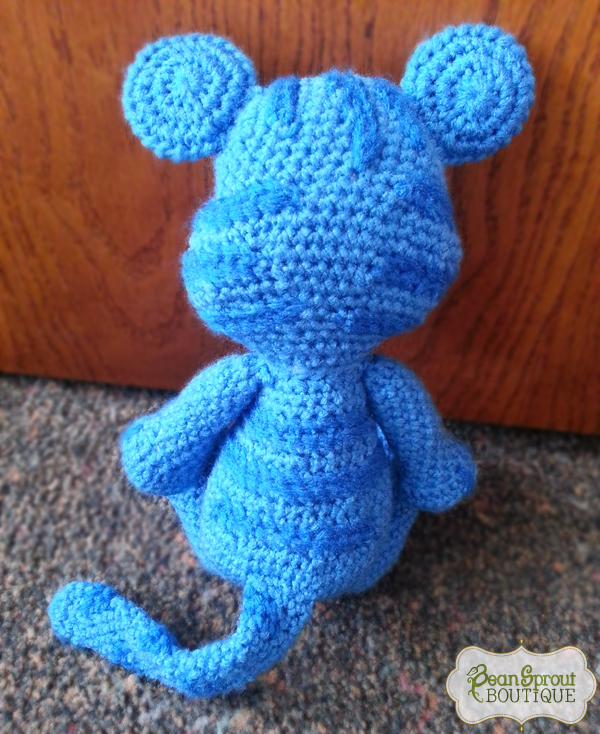 Daniel Tiger Amigurumi Pattern- Daniel Tiger Crochet Doll Pattern ... | 734x600