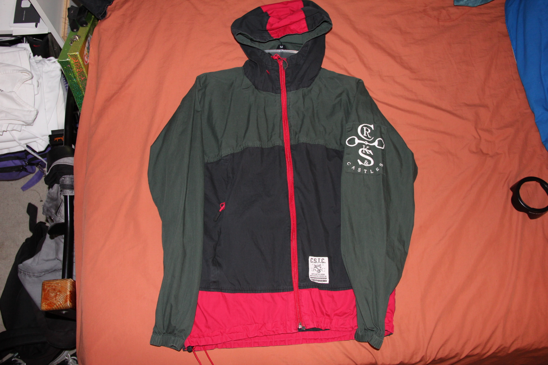 3f533051636 Crooks and castles gucci colorway windbreaker sz small