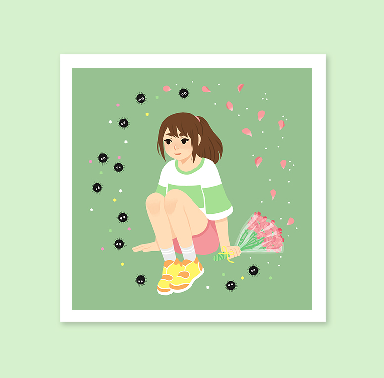 Chihiro Spirited Away Art Print Middlehouse Online Store Powered By Storenvy