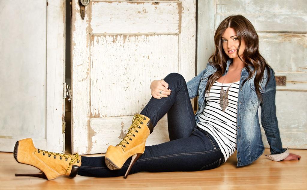 zigi timberland heels outfit