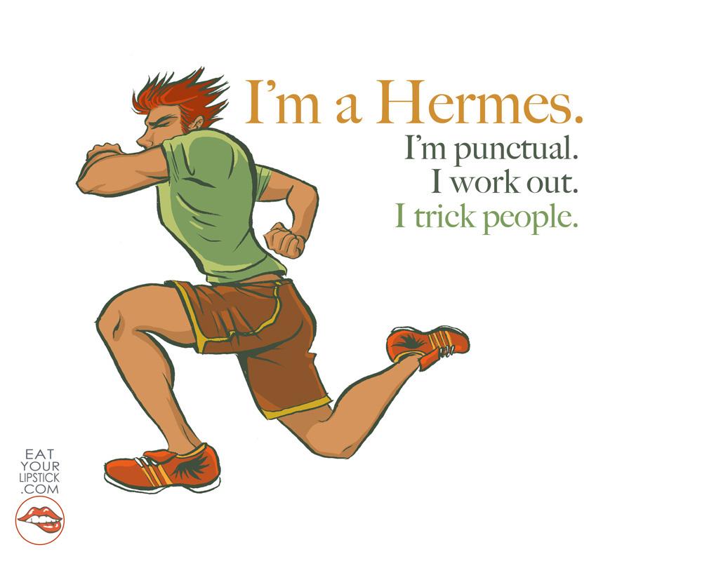 Im A Hermes Greek God Art Print On Storenvy