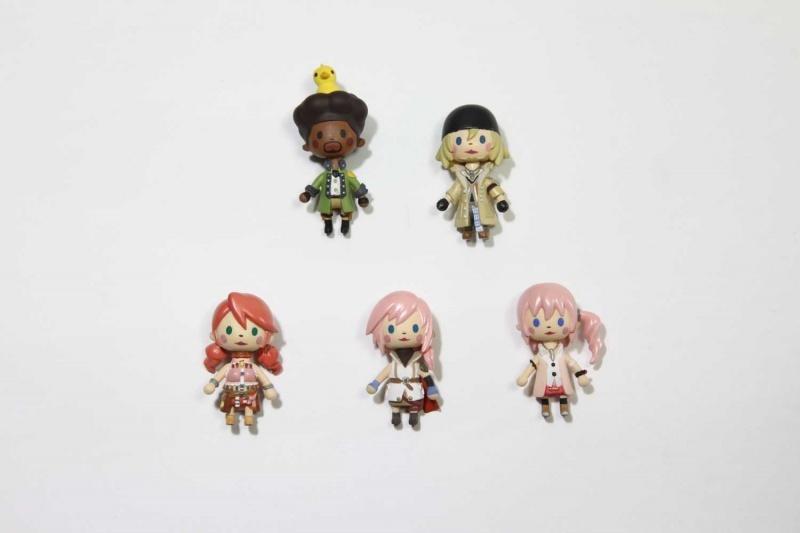 Tifa Kingdom Hearts Avatar Mascot Figure Phone Charm FF7 Final Fantasy VII NEW