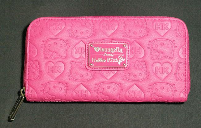f017e1f7e147 Hello Kitty pink embossed zip wallet · Trends International · Online ...