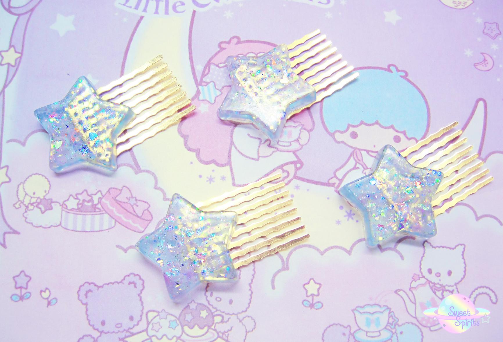 Fancy Shooting Star Hair Pin · Sweet Spirits · Online ...
