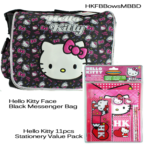 df35dc18e7b2 HELLO KITTY Messenger Bag Multi Print Bows Bundle · Trends ...